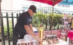 Artesanos locales empiezan  a vender sus productos. LAPRENSA/M. García