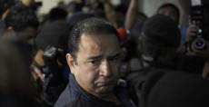 Sammy Morales, hermano del presidente de Guatemala, Jimmy Morales, detenido por supuesta corrupción. LA PRENSA/AFP