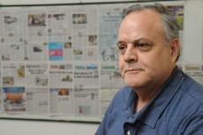 Franklin Caldera cinéfilo nicaragüense. LA PRENSA/URIEL MOLINA
