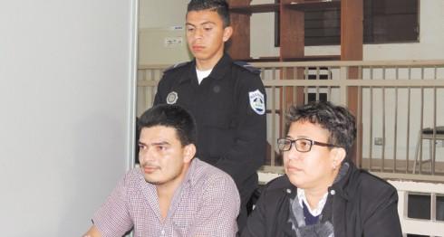 Douglas Antonio Zamora,  acusado de femicidio y portación ilegal de armas, irá a audiencias iniciales el próximo 23 de enero. LA PRENSA/L.E. MARTÍNEZ