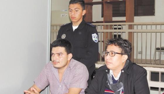 Douglas Antonio Zamora, acusado de femicidio y portación ilegal de armas, irá a a juicio el siete de marzo. LA PRENSA/ARCHIVO