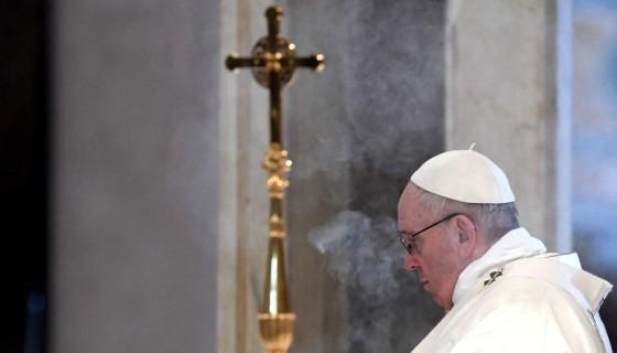 El papa Francisco. LA PRENSA / AFP / Tiziana FABI