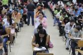 15 mil bachilleres realizan examen de admisión en UNAN-Managua