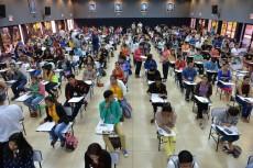 Managua 22 de Enero 2017 La UNAN-Managua recibe hoy 22 de Enero de 2017 a los estudiantes que realizarán su examen de admisión, con el ojjetivo de ingresar a una de las 76 carreras que está ofreciendo esta casa de estudios para el año académico 2017. LAPRENSA/ Jader Flores
