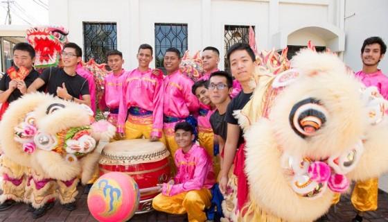 Celebración del nuevo Año Lunar de la Embajada de China (Taiwán). LAPRENSA/Uriel Molina