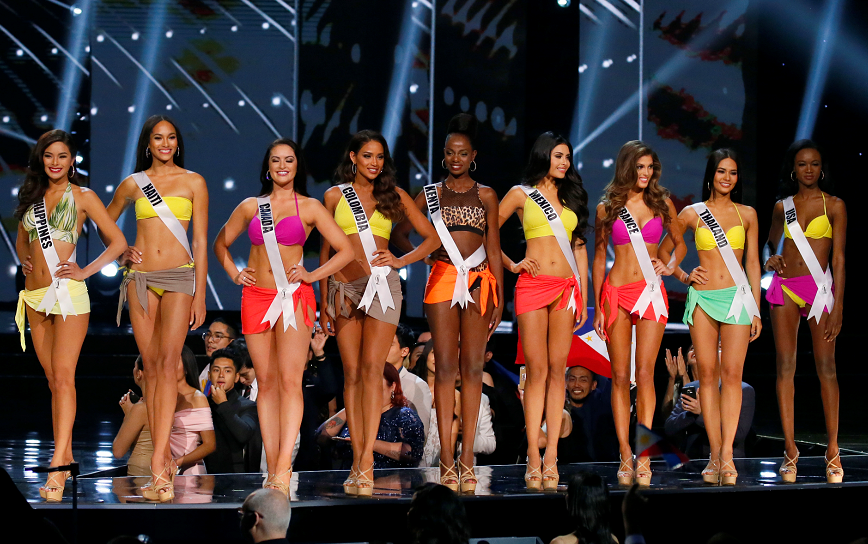 Miss Universo, candidatas