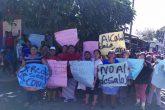 Protesta de comerciantes en Masaya por amenaza de desalojo