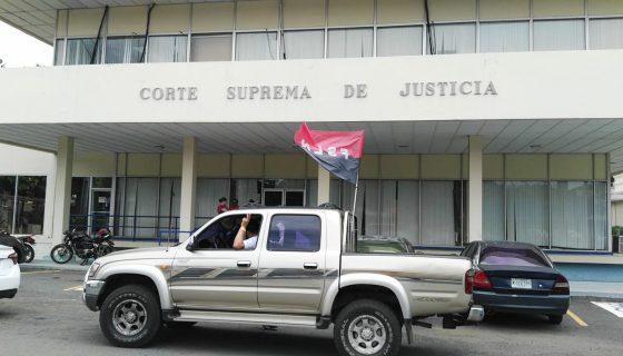El poder judicial ha sido denunciado por parcializarse a favor del FSLN. LA PRENSA/M. Vasquez