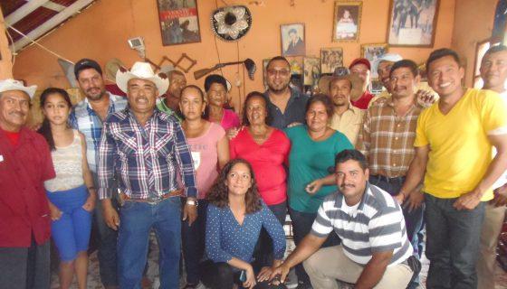 En la imagen se puede observar a los miembros del Consejo Departamental en Rivas. LAPRENSA/R. Villareal