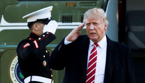 Donald Trump, presidente de Estados Unidos. LA PRENSA/AP