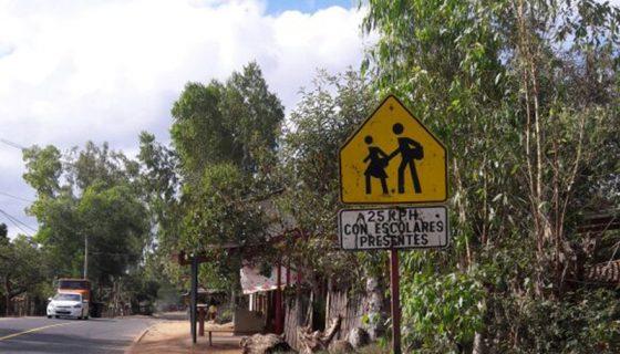 En la carretera Ocotal-Jalapa ocurrió el accidente donde murió el niño Julio Alberto Flores Sánchez, de 11 años. LA PRENSA/CORTESÍA