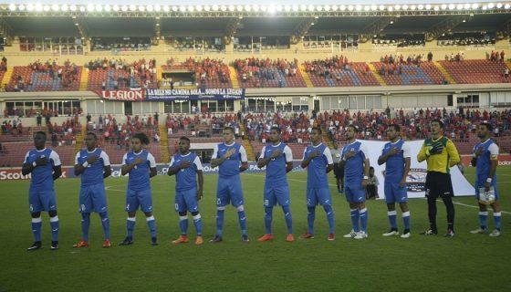 Selección de Futbol en la Copa Centroamericana.