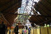 Incendio consume parte del techo del ranchón de la Alcaldía de Managua