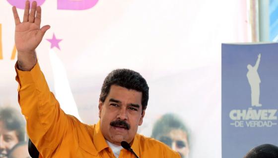 Nicolás Maduro, presidente de Venezuela. LA PRENSA / AFP Photo
