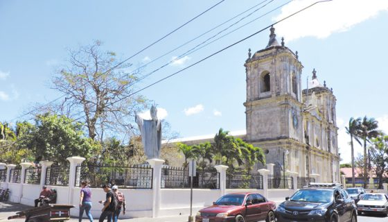 Cinco barrios en Jinotepe estuvieron sin agua potable. LA PRENSA/M. GARCÍA