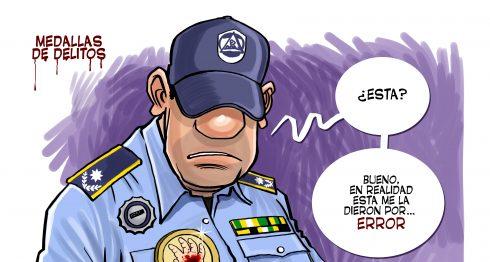 Caricatura del diario La Prensa correspondiente a la edición del viernes 17 de febrero.