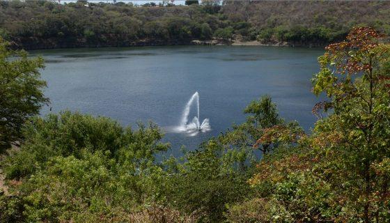 drenaje para Managua, laguna de tiscapa, laguna de asososca