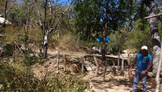 Además del acceso histórico que reclaman los comunitarios de San Juan del Sur, en la propiedad se están cercando otros accesos que conducen a terrenos de la Sociedad Escameca Grande. LA PRENSA/RAMÓN VILLARREAL