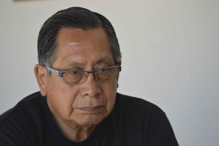 Francisco Morales, editor de Los Raros en Guatemala. LA PRENSA/MARTA LEONOR GONZÁLEZ