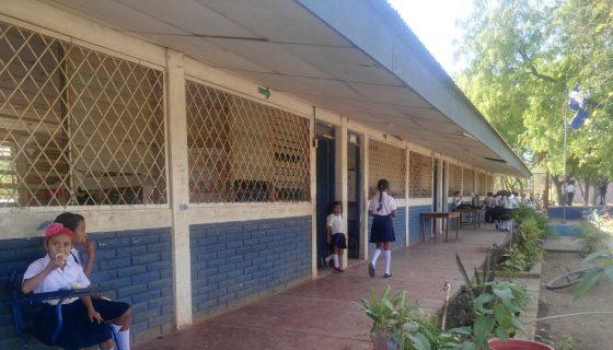 En la escuela Doris Fisher en La Paz Centro los servicios higiénicos se encuentran en mal estado. LAPRENSA/I.MUNGUÍA