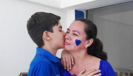 Joan Baca es un niño con Síndrome de Asperger que sueña con ser arquitecto. LAPRENSA/I.MUNGUÍA