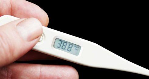 Griffin se escondía de su esposa para tomarse la temperatura a lo largo del día. THINKSTOCK