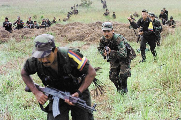 La desmovilización de las FARC en Colombia podría repercutir de forma negativa en Centroamérica, al registrarse mayor tráfico de droga hacia el norte. LA PRENSA/ARCHIVO