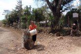 Calvario por falta de agua en varias zonas de Nicaragua