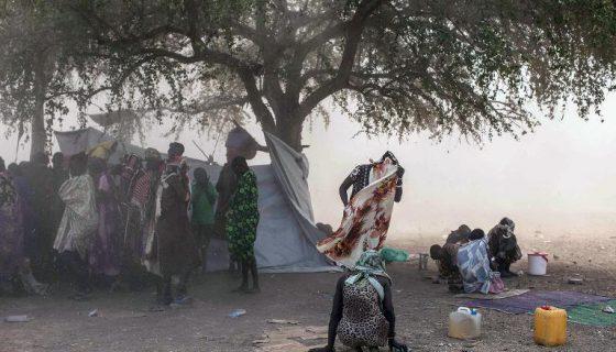 Actualmente hay 4.9 millones de personas, más del 40 por ciento de la población de Sudán del Sur con necesidad urgente de alimentos, según el índice que mide la inseguridad alimentaria en una escala de cinco niveles (IPC, por sus siglas en inglés). LA PRENSA/ARCHIVO