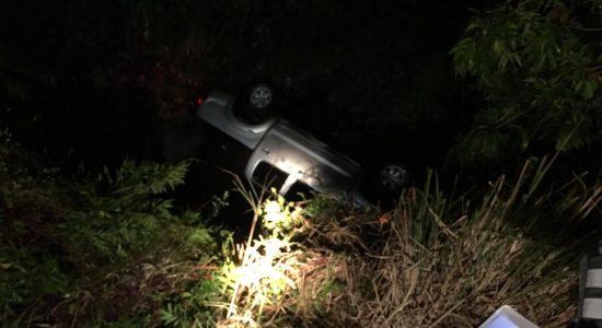 El accidente más reciente ocurrió la madrugada de este lunes, una mujer y hombre de identidades desconocidas resultaron lesionados. LA PRENSA/Cortesía