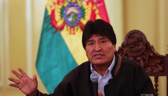 Evo Morales, presidente de Bolivia. LAPRENSA/EFE