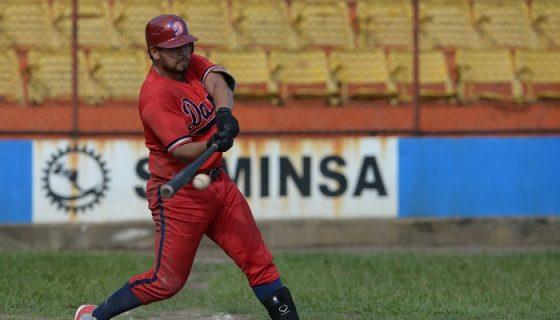 Los Dantos iniciarán la defensa de su título, en el Campeonato Nacional de Beisbol Superior. LA PRENSA/JADER FLORES