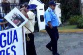 Policía impide protesta frente a oficinas de OEA