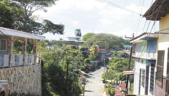 Fotografía de una calle de Matiguás en Matagalpa. LA PRENSA/ARCHIVO