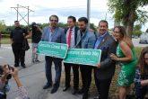 Jencarlos Canela inaugura calle con su nombre en Hialeah, Florida