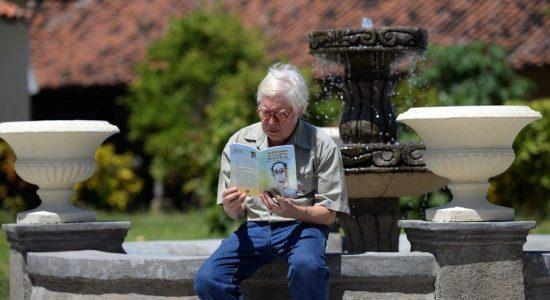 Bayardo Gámez Montenegro publica el libro Rubén Darío en las Artes Plásticas, un registro visual y didáctico sobre la vida y obra de Rubén Darío.LAPRENSA/ROBERTO FONSECA