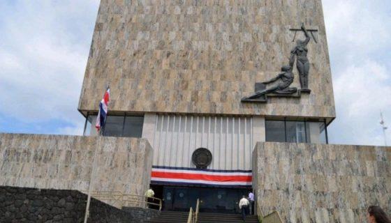 Fachada de la Corte Suprema de Justicia de Costa Rica. LAPRENSA/ARCHIVO
