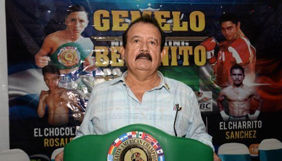 Bismarck Morales supervisó la última pelea de Román González frente a Carlos Cuadras. Foto: Roberto Fonseca