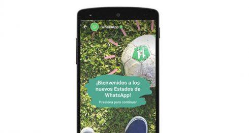 Estados de WhatsApp, INSTAGRAM, SNAPCHAT