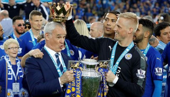 Claudio Ranieri y Leicester sorprendieron al mundo la temporada 2016. LAPRENSA/ AP