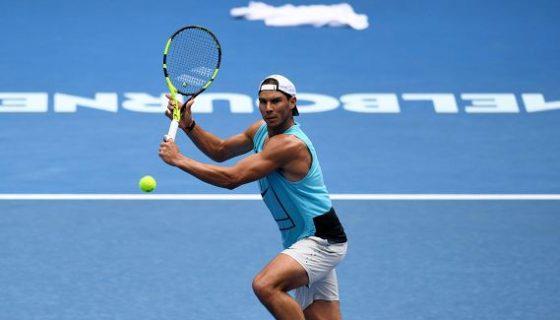 El español Rafael Nadal viene de ser finalista del Abierto de Australia. LAPRENSA/ ARCHIVO/ EFE