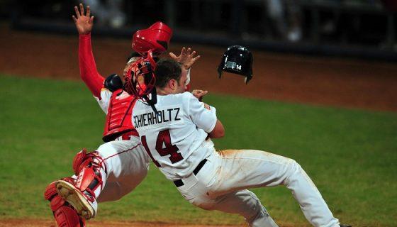 El beisbol se jugó por última vez en Juegos Olímpicos en Pekín 2008 y estará de regreso en Tokio 2020. LA PRENSA/ARCHIVO/AFP/Frederic J. BROWN
