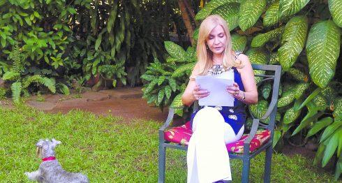 La escritora Blanca Castellón. LA PRENSA/MARTA LEONOR GONZÁLEZ