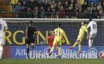 Álvaro Morata marcó el tercer gol en la remontada del Real Madrid ante Villareal. LA PRENSA/EFE