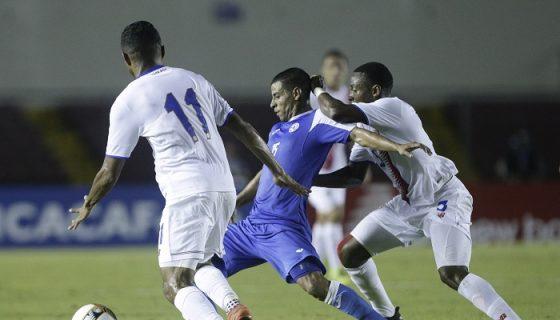 Lester Jarquín en un partido de la Selección contra Costa Rica. LAPRENSA/ AP
