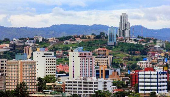 Tegucigalpa, capital de Honduras. LA PRENSA/Cortesía