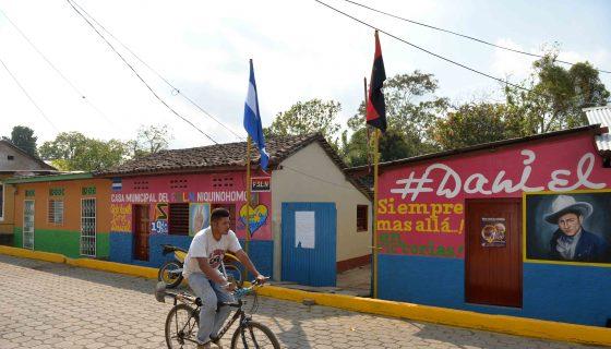 En Niquinohomo, el alcalde Marlon Muñoz fue apartado de su cargo, las órdenes en el municipio emanan desde la casa del FSLN. LA PRENSA/J. FLORES.