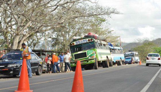 vías en Boaco, accidentes, transportistas