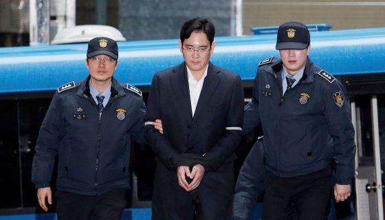 Los abogados de Samsung han negado todas las acusaciones contra Lee Jae-yong, el millonario heredero de Samsung. AP