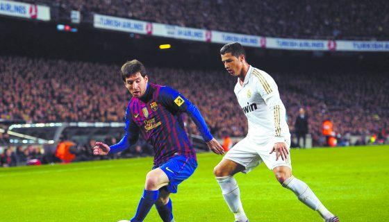 Lionel Messi y Cristiano Ronaldo se trasladarán a Estados Unidos para darle vida a una choque más entre ambos clubes. Foto: AP